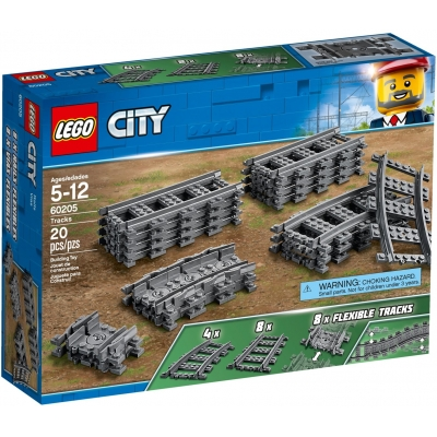 LEGO CITY 60205 Tory do kolejek 60197 i 60198