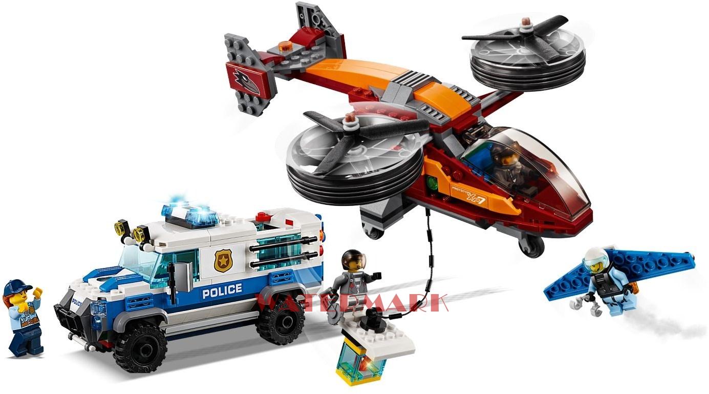 Lego City 60209 Rabunek Diamentów
