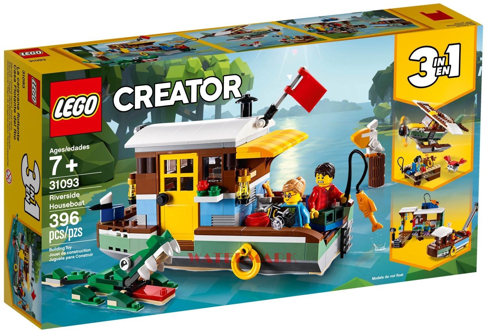 Lego Creator 31093 łódź Mieszkalna