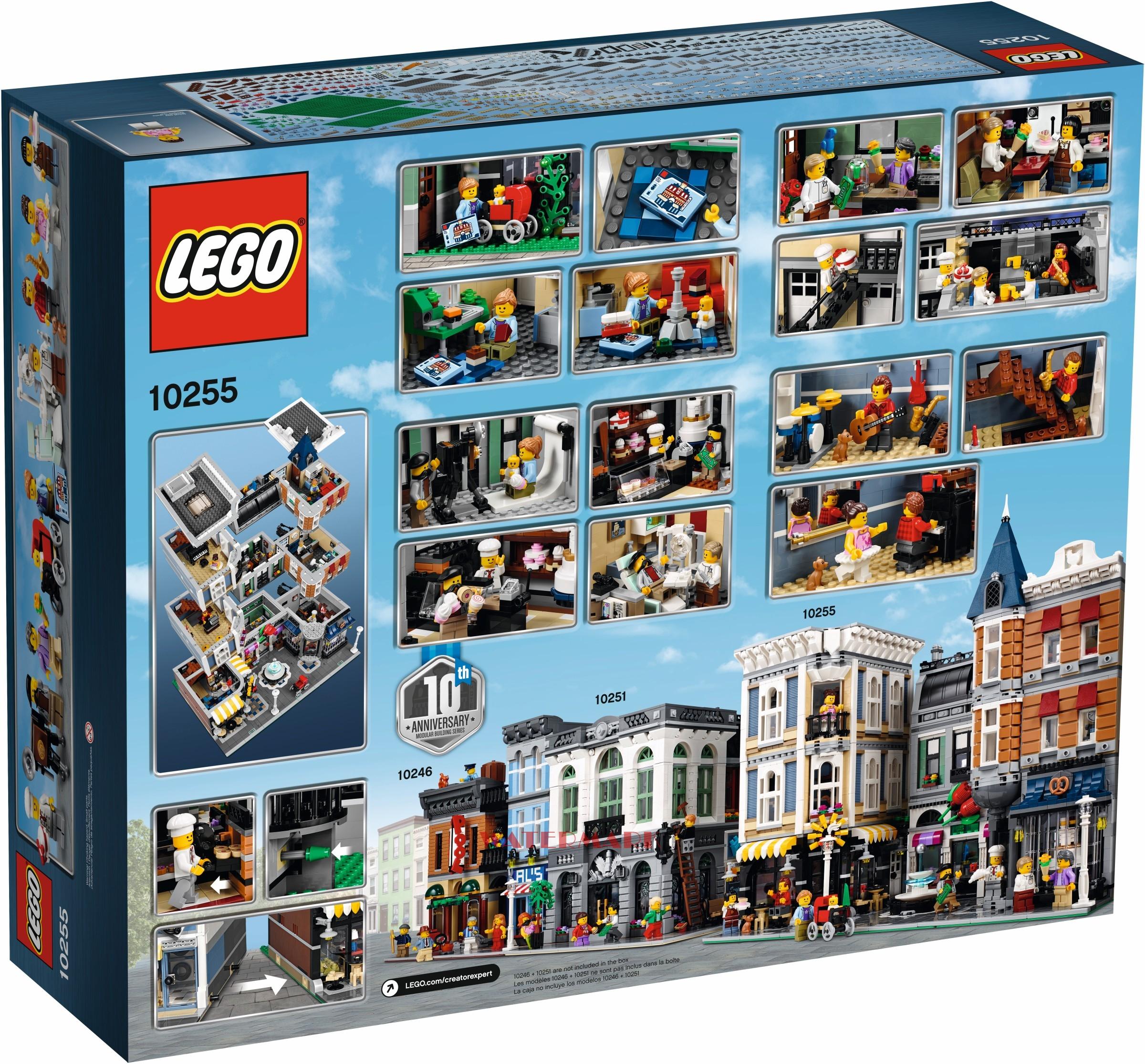 Lego Creator 10255 Plac Zgromadzeń