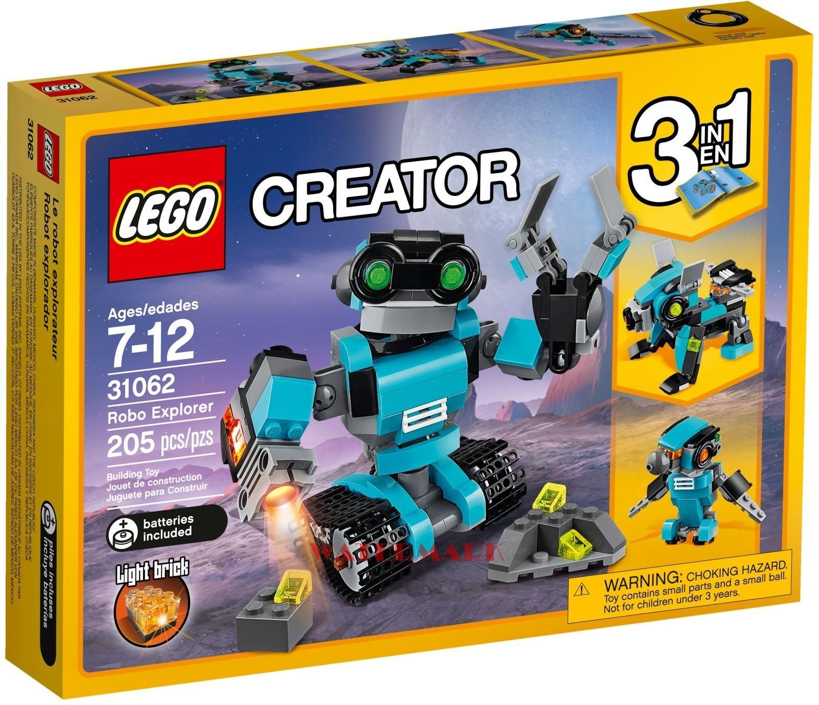 Lego Creator 31062 Robot Odkrywca