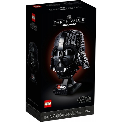 LEGO STAR WARS  75304 Hełm Dartha Vadera