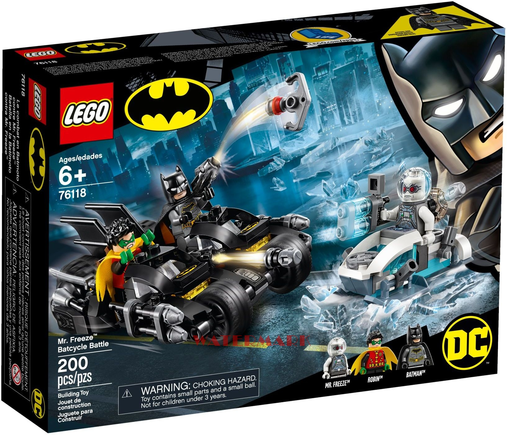 LEGO 76118 DC Super Heroes Walka z Mr. Freeze'em™